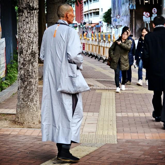"""""""Zen Monk"""" stock image"""