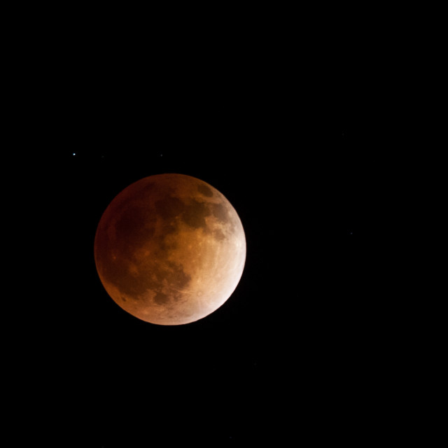 """Total Lunar Eclipse"" stock image"