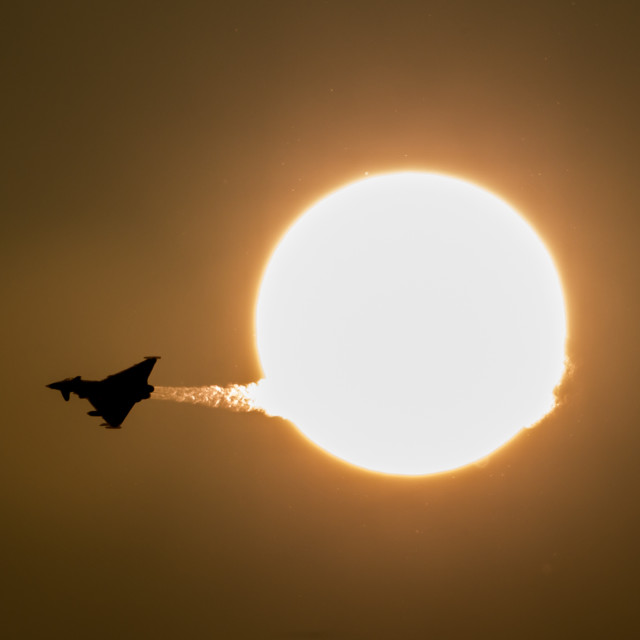 """Typhoon sun"" stock image"