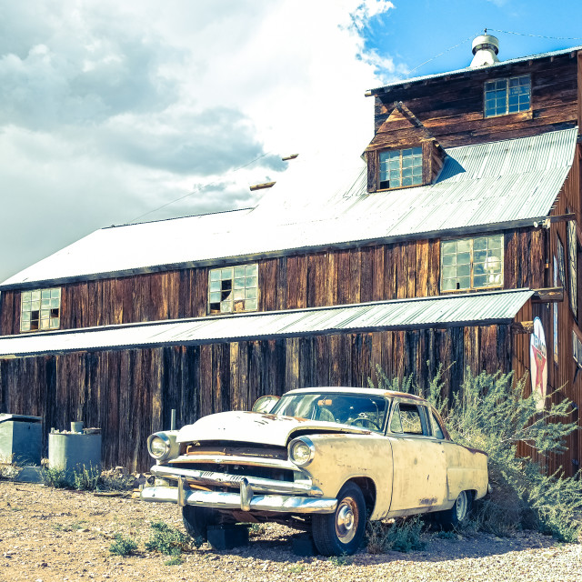 """Route 66 Impression"" stock image"