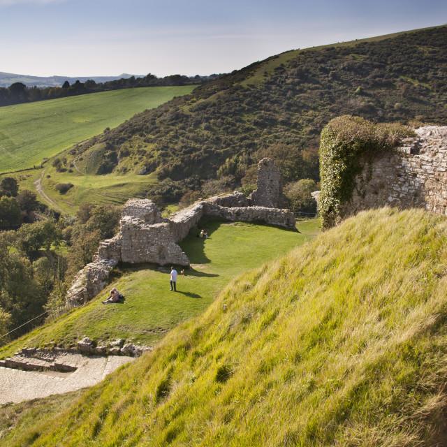 """Dorset landscape"" stock image"