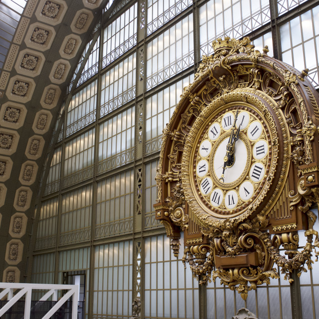 """Musée d'Orsay"" stock image"