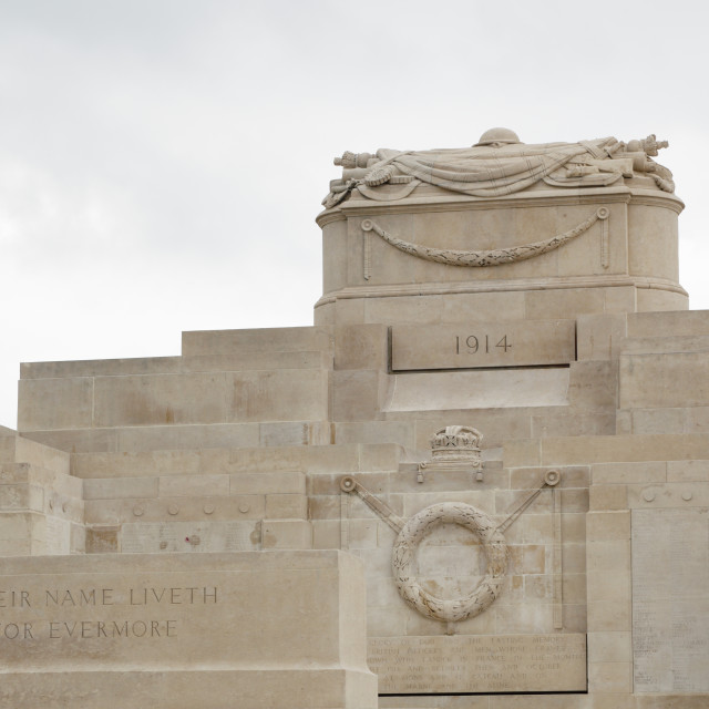 """World War I memorial"" stock image"