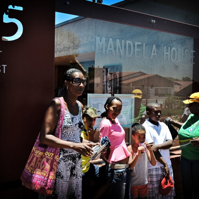 """Mandela house"" stock image"