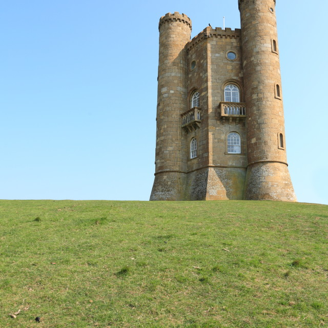 """""""Broadway Tower, Cotswolds"""" stock image"""