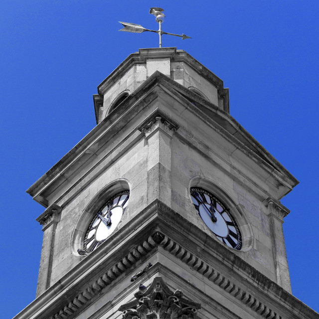 """Clocktower"" stock image"