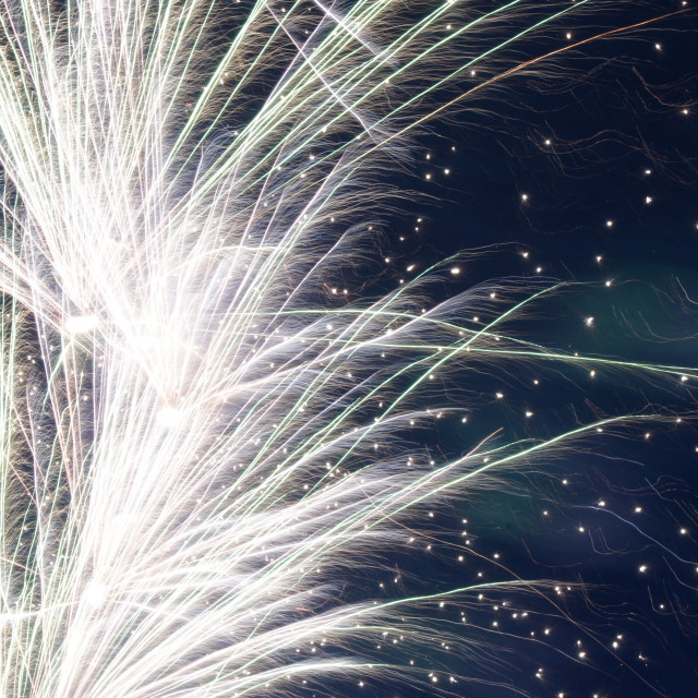 """Diamond Jubilee fireworks 5"" stock image"