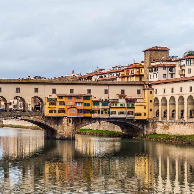 """Ponte Vecchio"" stock image"