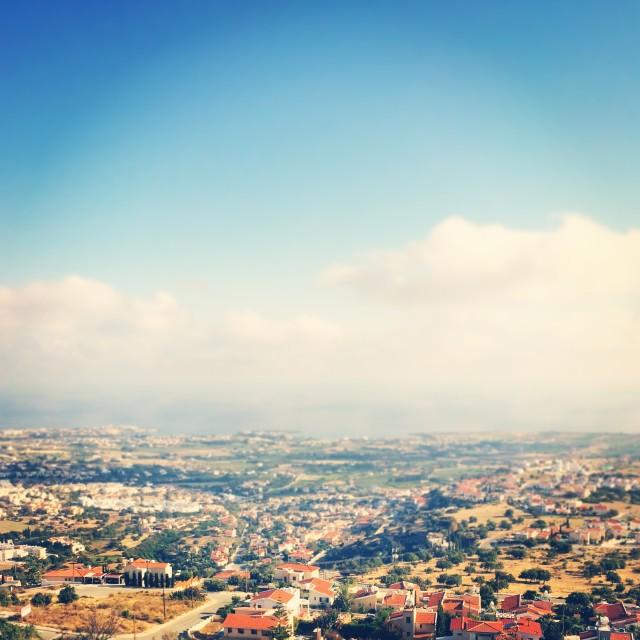 """Cyprus Skyline"" stock image"