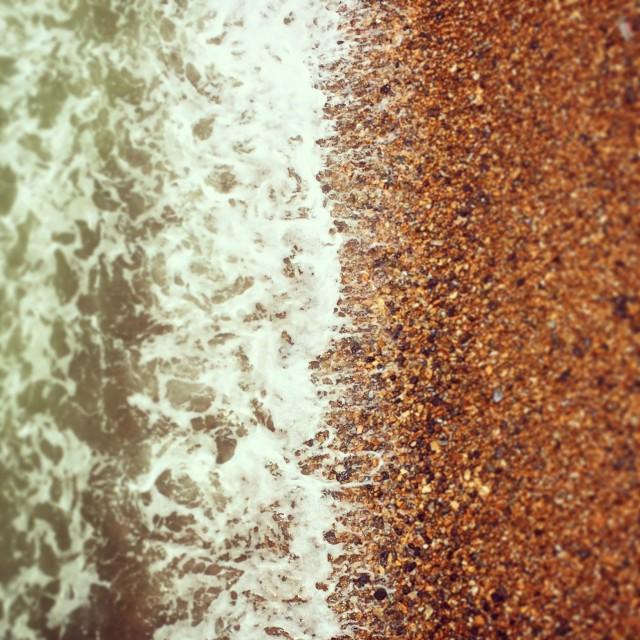 """Pebble Beach"" stock image"