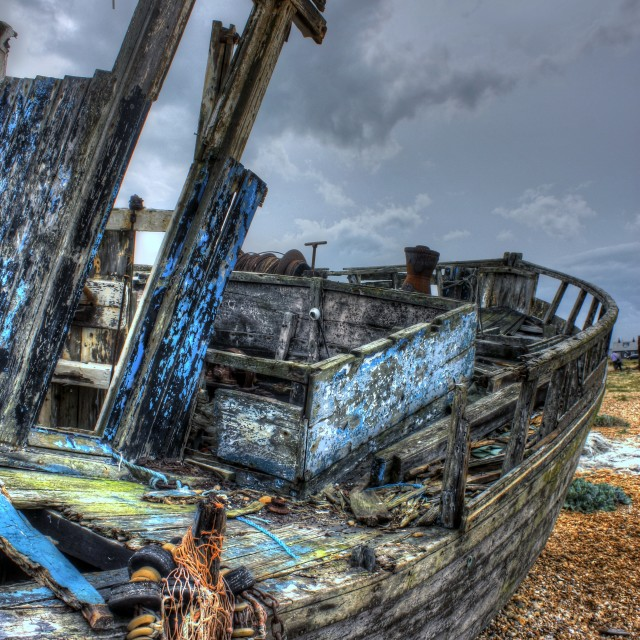 """""""Old Boat"""" stock image"""