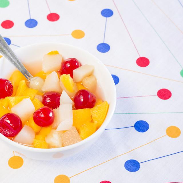 """Fruit salad"" stock image"
