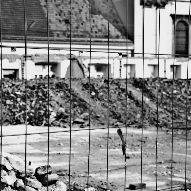 """Demolished buildings"" stock image"