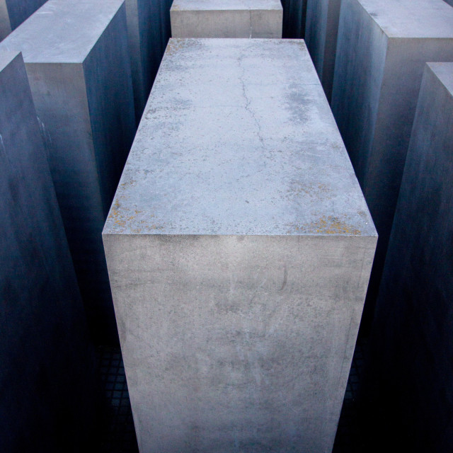 """Holocaust Memorial - Berlin"" stock image"