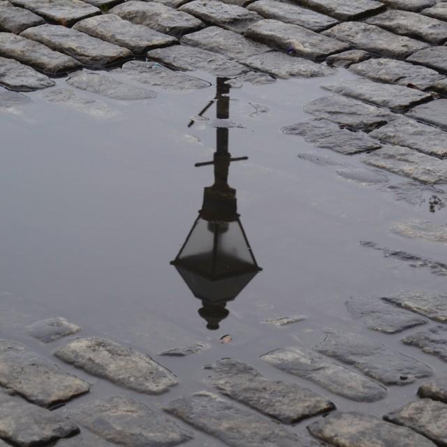 """Savannah Street Lamp"" stock image"