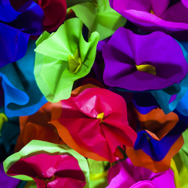 """Paper Flowers"" stock image"
