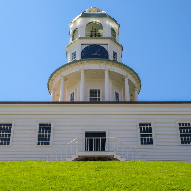 """""""Old Clock Tower in Halifax"""" stock image"""