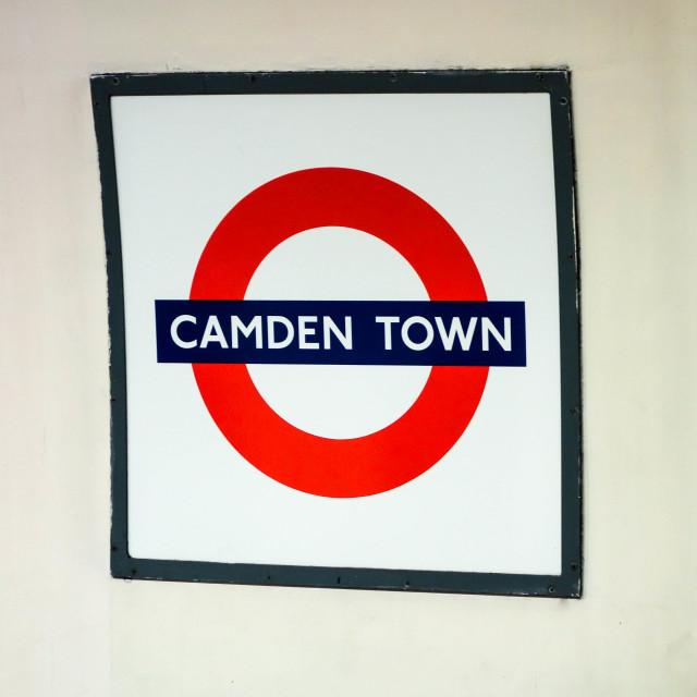 """""""Camden Town"""" stock image"""