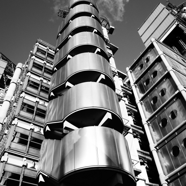 """Lloyds Building London"" stock image"