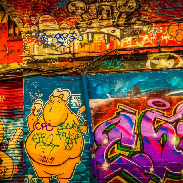 """Graffiti HDR"" stock image"