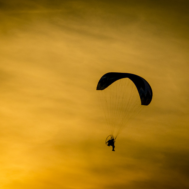 """Gliding"" stock image"