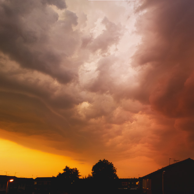 """Summer Storm"" stock image"