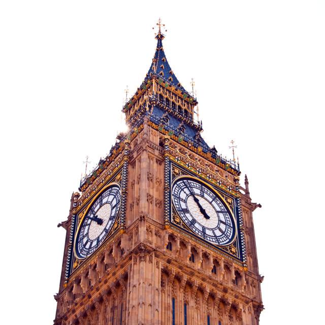 """Big Ben in Westminster London"" stock image"