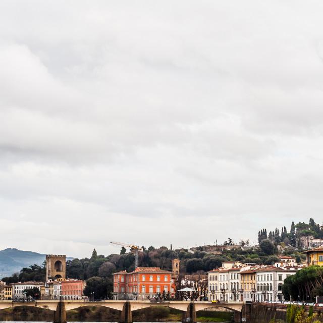 """""""Ponte alle Grazie"""" stock image"""
