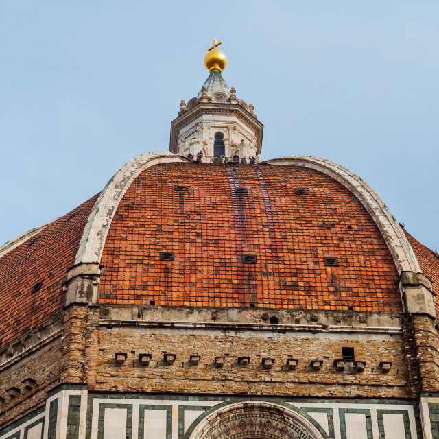 """Dome in Florence"" stock image"