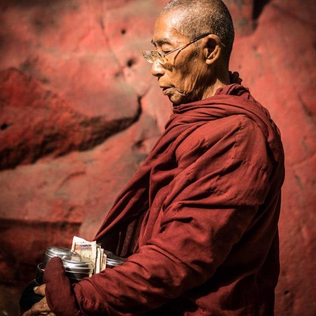 """""""myanmar monk"""" stock image"""