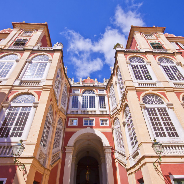 """Royal Palace in Genoa, Italy"" stock image"