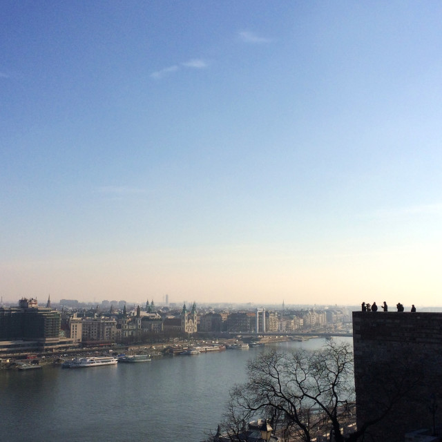 """""""Budapest View"""" stock image"""