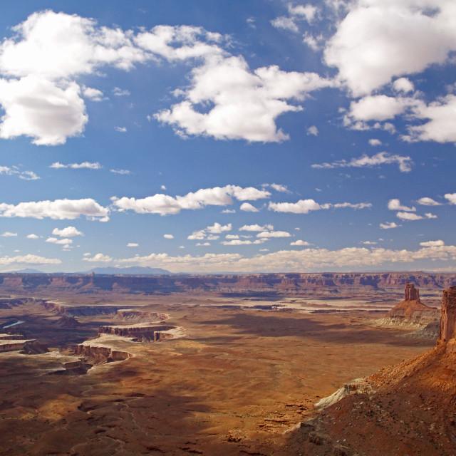 """Canyonlands Vista"" stock image"