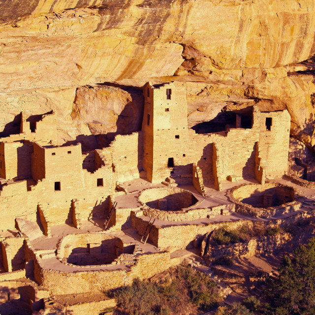 """Cliff Palace"" stock image"