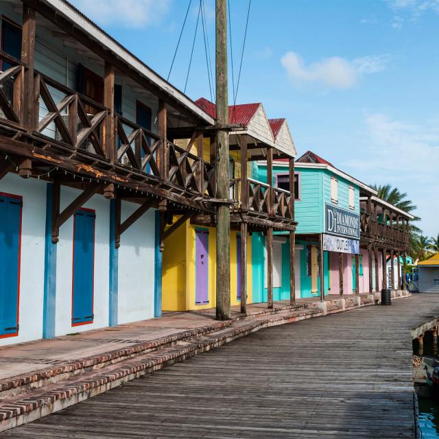 """""""Saint John's Port"""" stock image"""