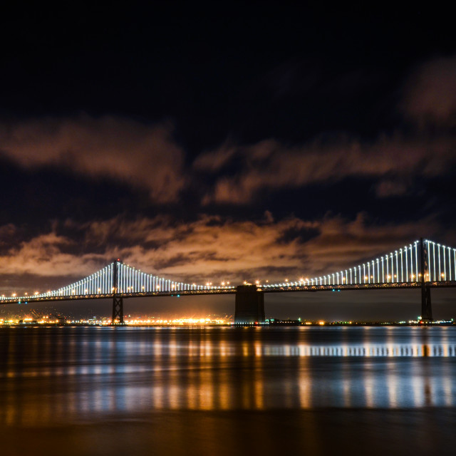 """Bay Bridge"" stock image"