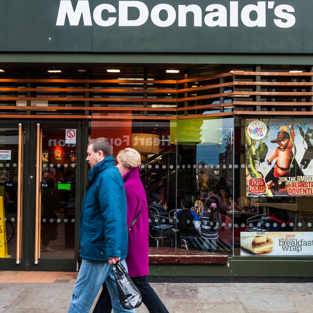 """McDonald's"" stock image"