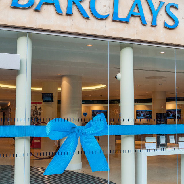 """Barclays"" stock image"
