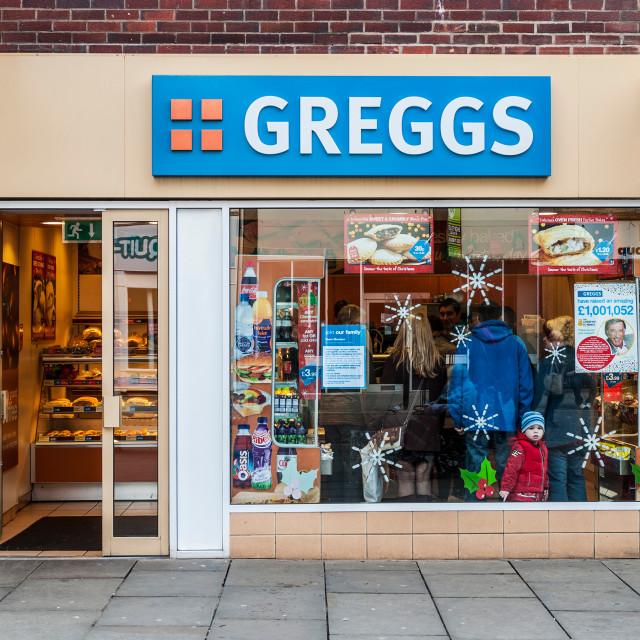 """Greggs"" stock image"