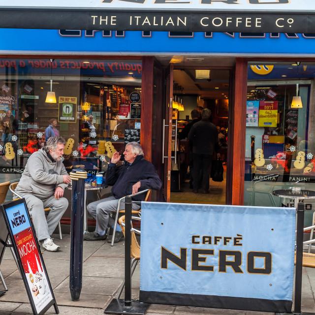 """Caffe Nero"" stock image"