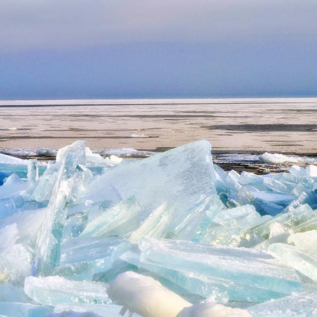 """""""Ice Shards"""" stock image"""