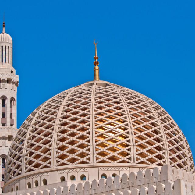 """Dome and Minaret"" stock image"