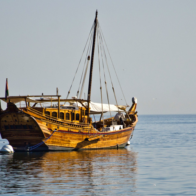 """Dhow"" stock image"