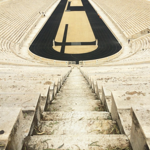 """Panathenaic Stadium, Athens"" stock image"