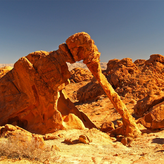 """Elephant Rock"" stock image"