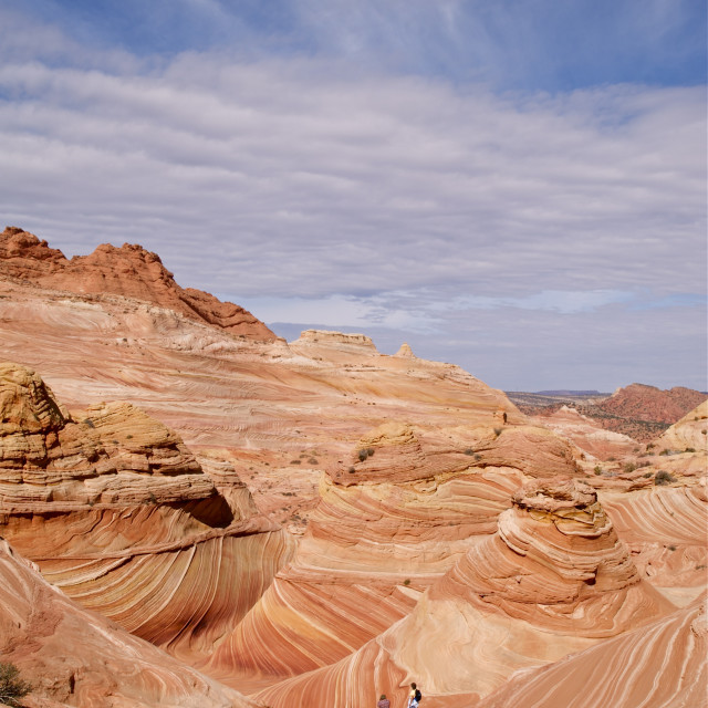 """The Coyote Buttes"" stock image"