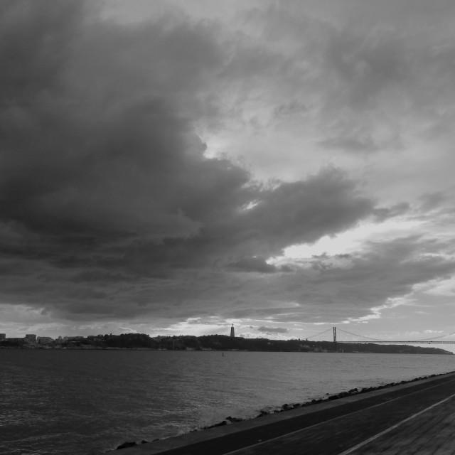 """River Tagus Lisbon Portugal"" stock image"