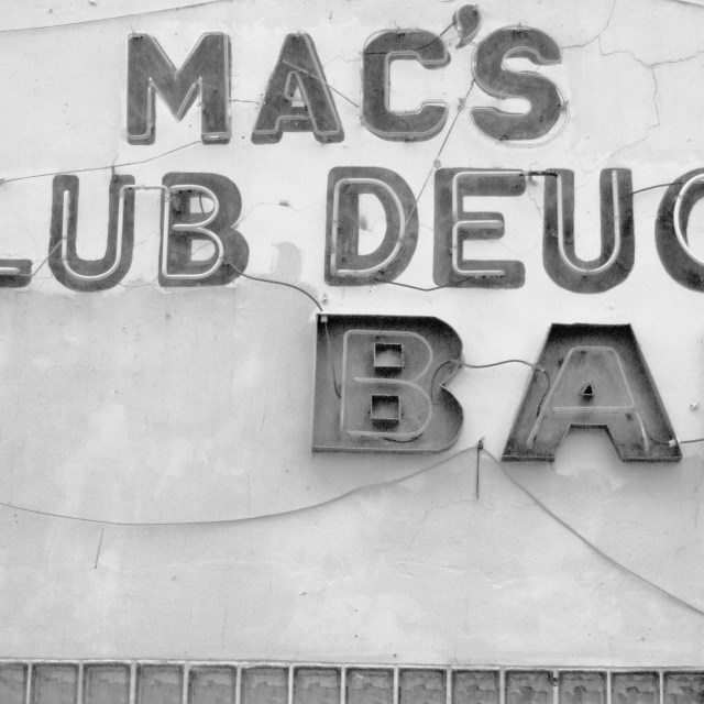 """Mac's Club Deuce"" stock image"