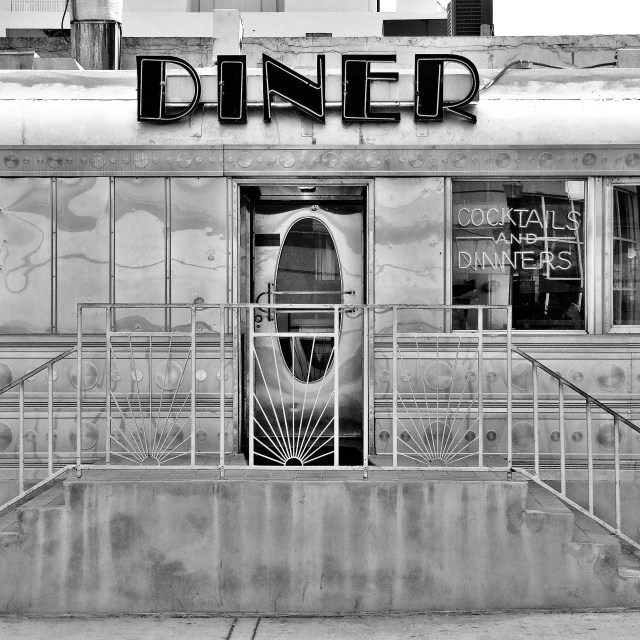 """Diner"" stock image"