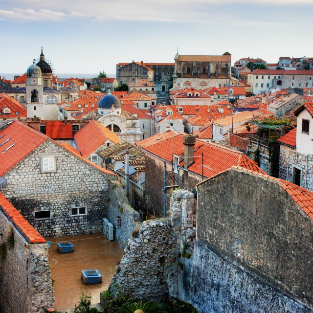 """Old Town of Dubrovnik"" stock image"
